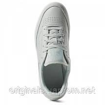 Кожаные кроссовки Reebok Club C 85 женские CN6974  , фото 3