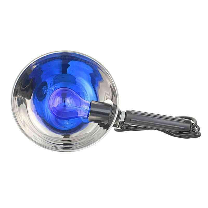 Синяя лампа «Классика» с большим отражателем