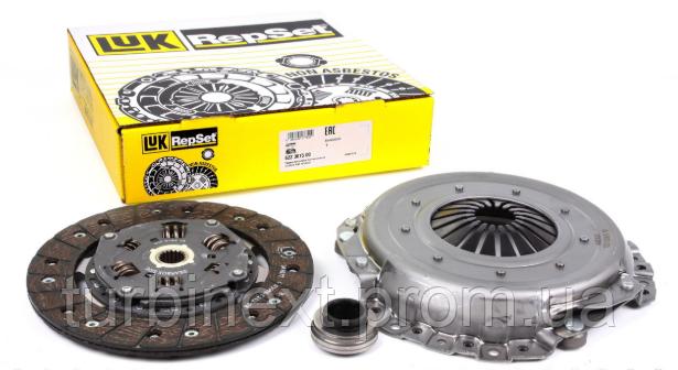 Комплект зчеплення LuK 623 3082 00 VW T5 1.9 TDI (62-77kw) /2.0 TDI (62-84kw)/T6 2.0 TDI (62-75k) 15- (d=230mm)