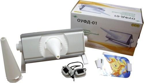 Кварцевая лампа ОУФд-01 «Солнышко» - детская