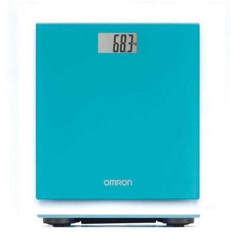 Весы напольные OMRON HN-289-EB (бирюзовые)