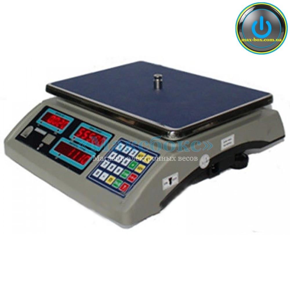 Весы торговые с поверкой до 15 кг ВТНЕ/2 15Т1 с RS (Дозавтоматы)