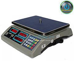 Весы торговые с поверкой до 15 кг ВТНЕ - 15Т1-1 с RS232 (Дозавтоматы)
