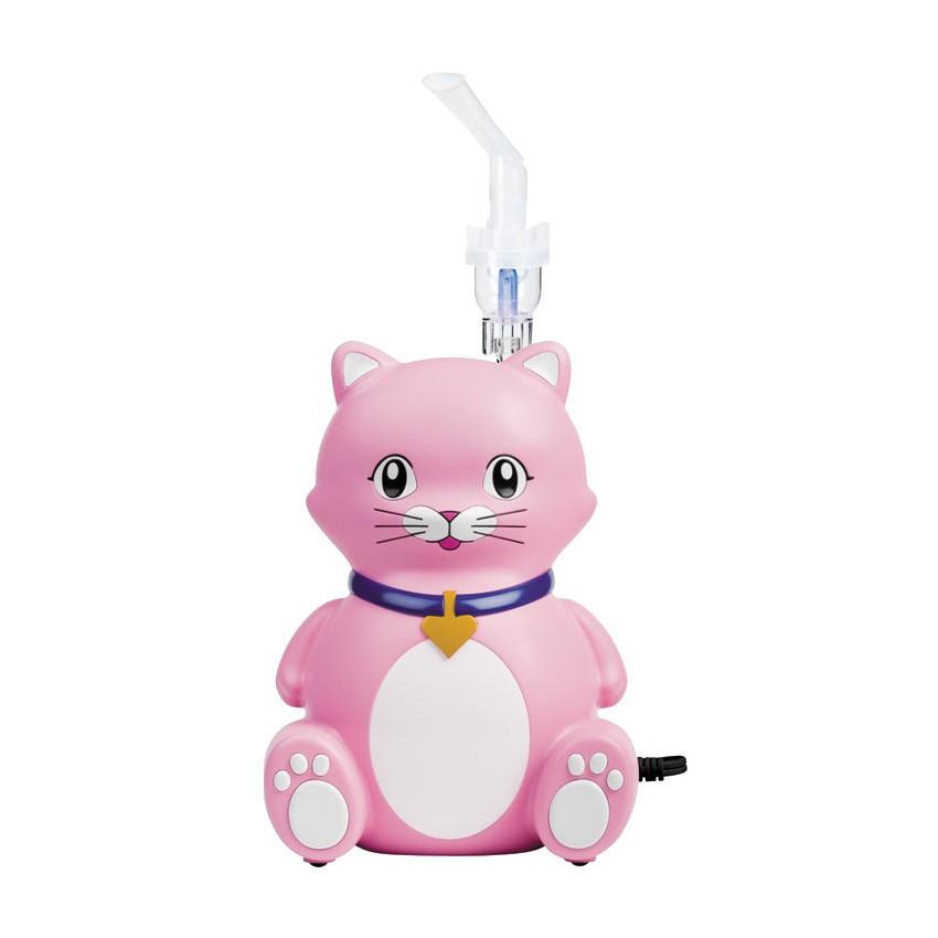 Детский компрессорный ингалятор (небулайзер) КОШКА