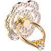 Держатель-кольцо для смартфона Lesko S985 Цветок White
