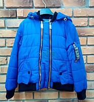 Весеняя куртка для мальчика Anernuo S-1710, Синий, 140