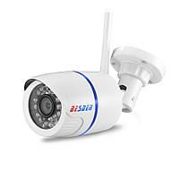 Besder 720P Wi-Fi IP Камера Onvif 1.0MP HD Внешняя, погодозащитная, инфракрасное Ночное Видение