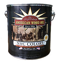 Масло-віск American Wood Oil Hard Wax Oil NYC Colors 2.5л Rockland