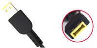 Разъем коннектор под пайку для блока питания ноутбука Lenovo Square tip без иглы, фото 1