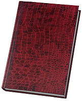 Ежедневник А6 Economix недатированный Croco красный E21728-03