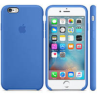 """Чехол силиконовый для iPhone 6/6S. Apple Silicone Case, цвет """"Королевский синий"""""""