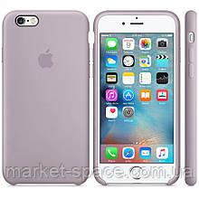 """Чехол силиконовый для iPhone 6/6S. Apple Silicone Case, цвет """"Лаванда"""""""