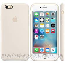 """Чехол силиконовый для iPhone 6/6S. Apple Silicone Case, цвет """"Морская ракушка"""", фото 2"""
