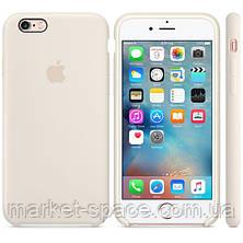 """Чехол силиконовый для iPhone 6/6S. Apple Silicone Case, цвет """"Морская ракушка"""", фото 3"""