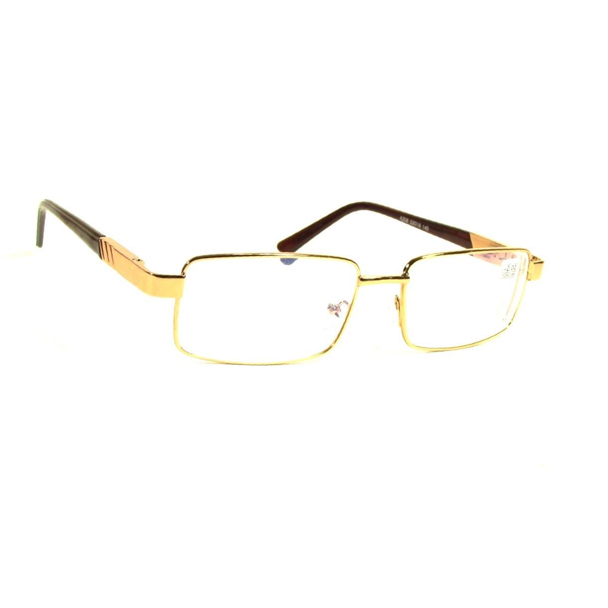 Универсальные очки в металлической оправе