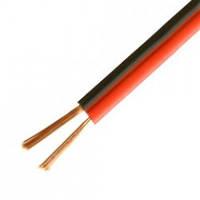 Кабель питания Sound Star 2 жилы медный 7х0,12мм (0,08мм.кв.), красно-чёрный, 100м