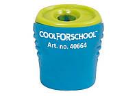Точилка пластиковая с контейнером и клипом Neon, 1 лезвие ассорти