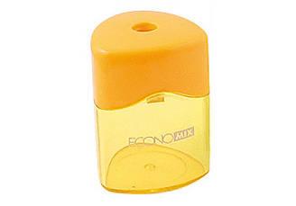 Точилка пластиковая с контейнером 1 лезвие, Economix