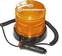 Мигалка светодиодная 12V 36LED магнит/саморез