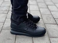 Мужские ботинки New Balance 754 All Black зима (44, 45 размеры) 0785e5049d2