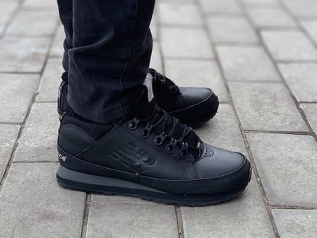 Мужские ботинки New Balance 754 All Black зима (44 последний размер), фото 2