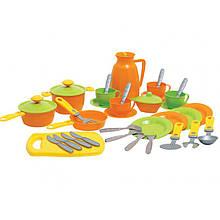 Кухонный набор  игрушечный 36  предметов  ТЕХНОК 3275