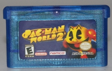 "Картридж на GBA ""Pac Man World 2"""