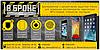 Броньовані захисна плівка для екрану Hero H7500+