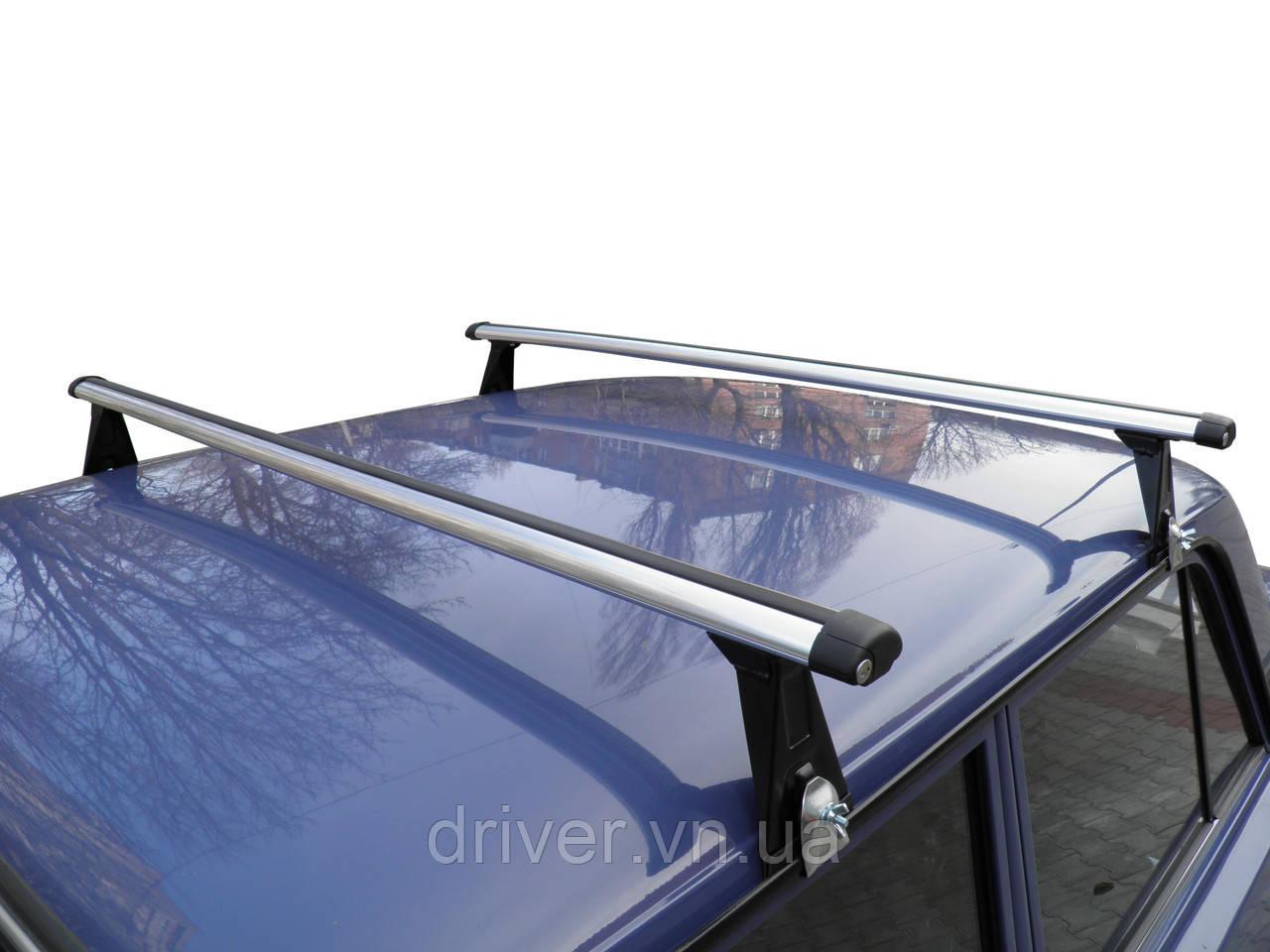 Багажник на водостоки (алюміній) UNI AERO 130см.