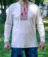 Вышитая мужская рубашка орнамент длинный рукав