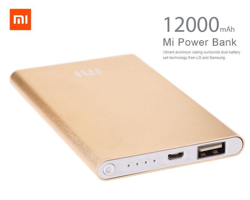 Портативний акумулятор Power bank Mi 12000 mAh