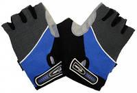 Перчатки без пальцев In Motion NC-1212-2010 синий XL