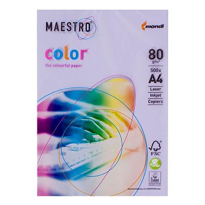 Папір A4 Maestro color ліловий LA 12