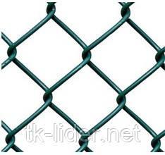 Сетка рабица, сетка рабица в рулонах,  15x15  10000x1500   д= 1.5 мм оц