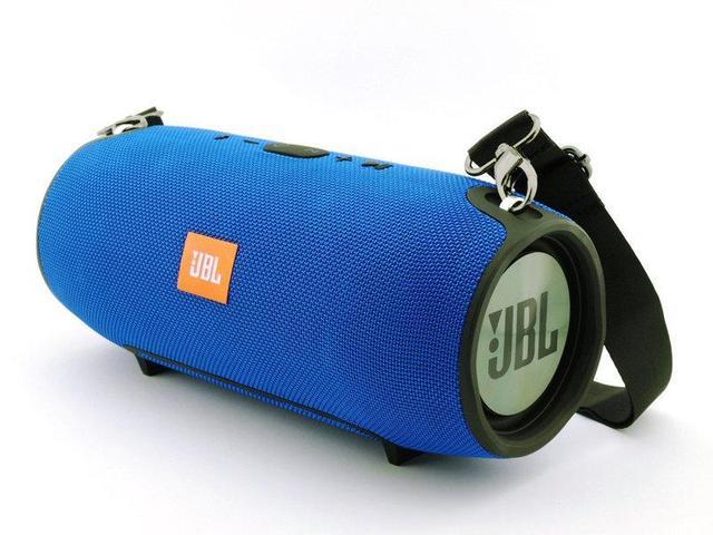 Портативная Bluetooth колонка JBL Xtreme Mini,  колонка, блютуз, беспроводная, синяя