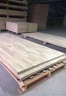 Мебельный щит (береза) 20мм,1220х2100, цельноламельный, качество СС, доставка по Украине