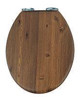 Крышка для унитаза под дерево с микролифтом Orzech AWD02181065