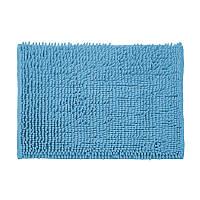 Килимок для ванної кімнати з поліестеру 60*40 синій AWD02161396