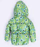 Теплая  детская зимняя куртка и брюки для девочки, фото 4