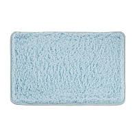 Килимок для ванної кімнати з поліестеру 60*40 синій AWD02161400