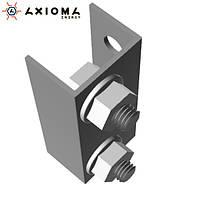 Соединитель профилей алюминий и оцинкованная сталь AXIOMA energy