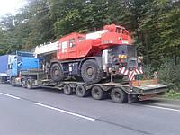 Перевезення негабаритних вантажів Польща - Україна (Польша - Украина)