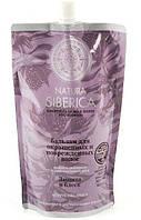 Органический Бальзам Защита и блеск ДОЙ ПАК для окрашенных поврежденных волос, 400мл, Natura Siberica