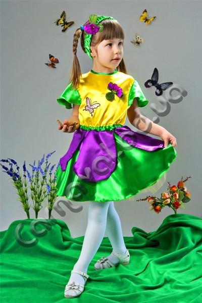 Карнавальный костюм  для девочки Фиалка