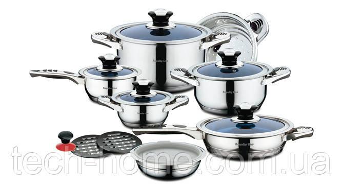 Набор посуды Royalty Line RL-16BG 16 pcs