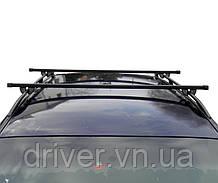 Багажник на рейлінги, поперечини (сталь) 140см \ 90 кг.