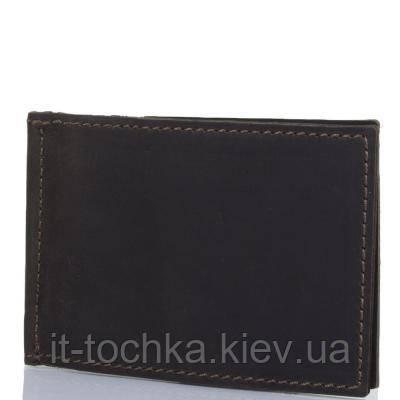 Зажим для купюр мужской кожаный dnk leather  (ДНК ЛЕЗЕР) dnk-pocket-money-col.f