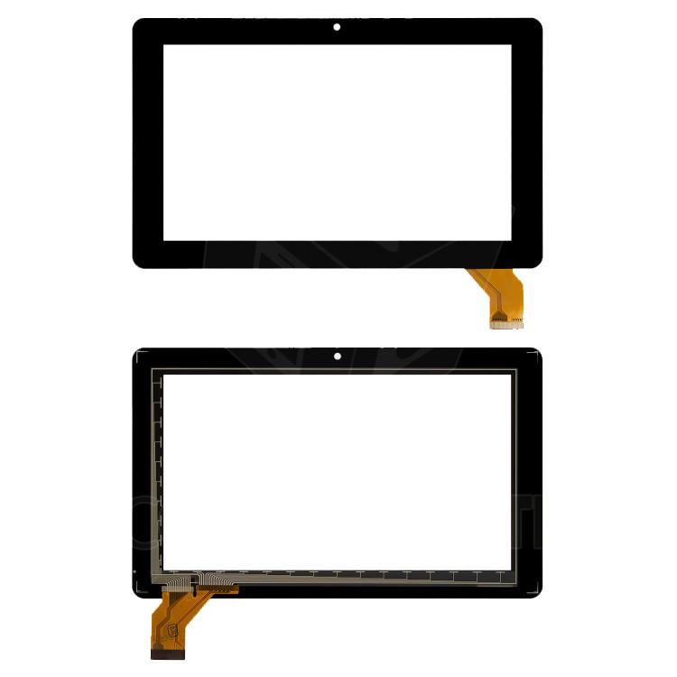 "Сенсорний екран для планшету Tablet PC Explay Traveller 7.23, 7"", 112x183 mm, 30 pin, чорний"
