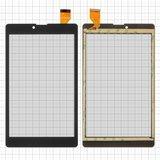 """Сенсорний екран для планшету Tablet PC 7"""", Irbis TZ730, TZ731, 184x107 mm, 30 pin, чорний"""