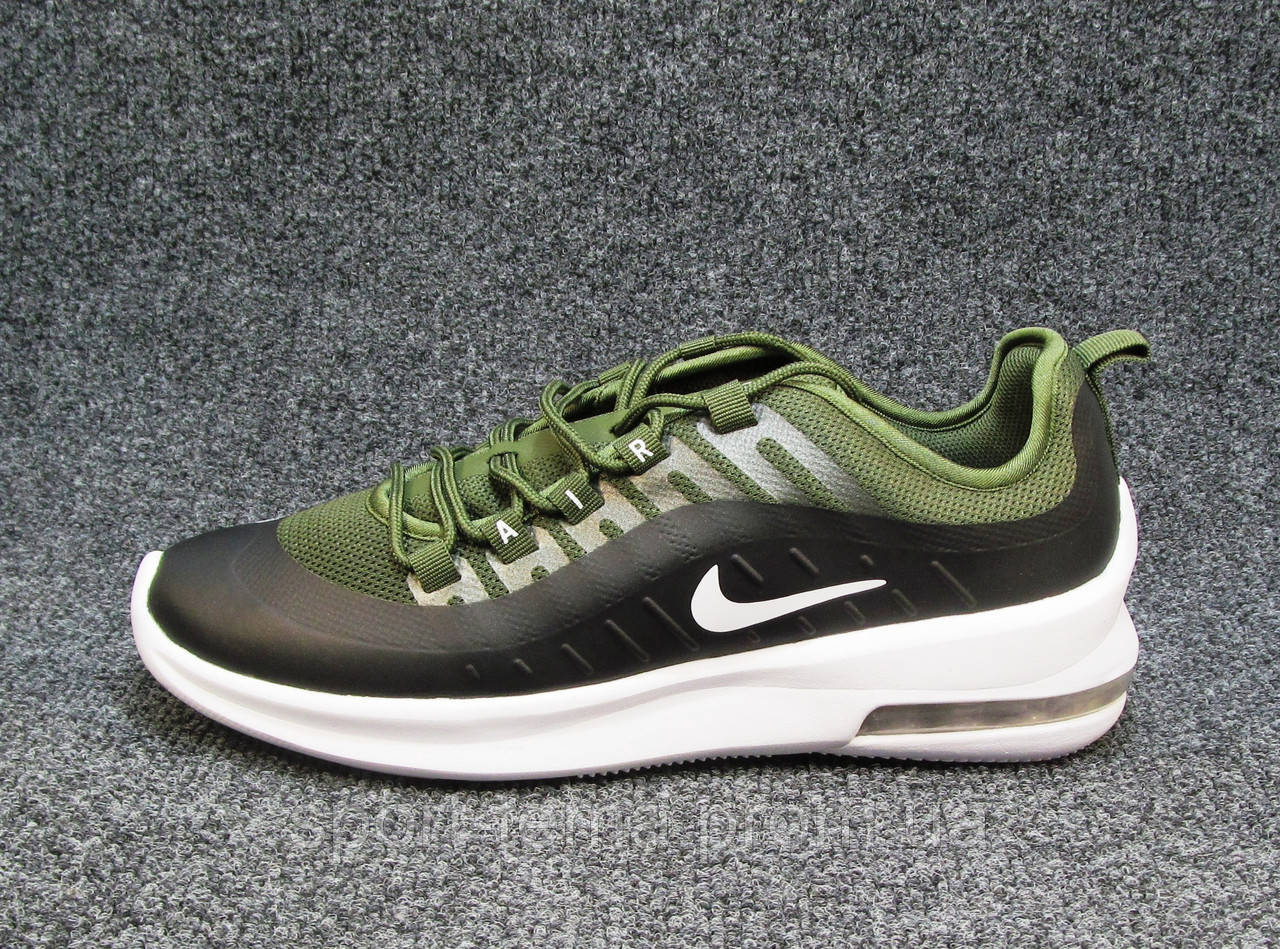 4993c734 Кроссовки Мужские Nike Air Max Axis Черно-зеленые (найк Аир Макс)(р ...